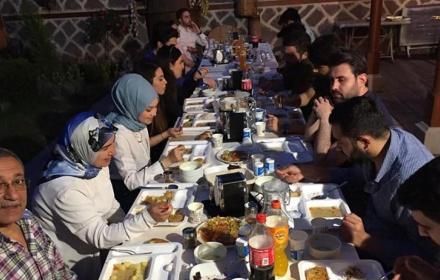 İstanbul'dan İşadamı Hakan Şen'in Katkılarıyla Ramazan Ayının 28. İftarı
