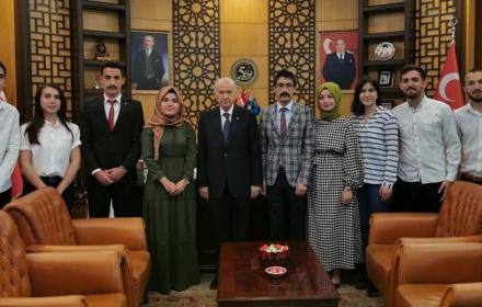 MHP Genel Başkanı Sayın Devlet Bahçeli'yi Bayram Ziyareti